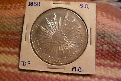 1888 Mexico Eight Reales Do / M.C.