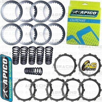 Apico Clutch Kit Friction Steel Plates & Springs For Husqvarna FX 350 2018