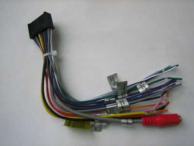 ORIGINAL DUAL WIRE Harness For XNAV267BT, DVN927BT, DAC1025BT on