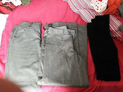 trouser/legging bundle size 10/12 h&m papaya
