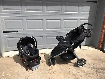 BRITAX B-Agile B-Safe 35 Elite Travel System Single Seat Stroller