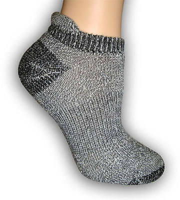 """Alpaca Ankle """"Low Pro"""" Socks (Made in USA) - Sizes S, M, L, XL - Unisex"""