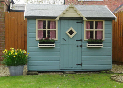 Childrens Outdoor Wooden Playhouse Painted 5x7 Wendy House Lincoln Newark