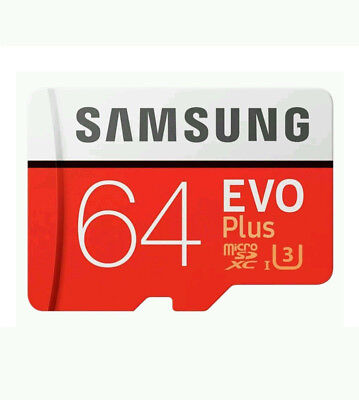 New 64GB EVO PLUS MICRO-SDXC MEMORY CARD for SAMSUNG GALAXY S7 & Edge S7 !OFFER!