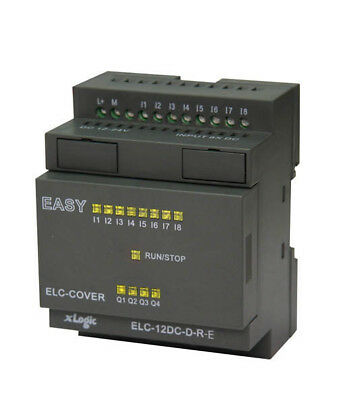 PLC Programmable Logic Controller 8 DC in, 4 Out TTL Transistor w Software & USB