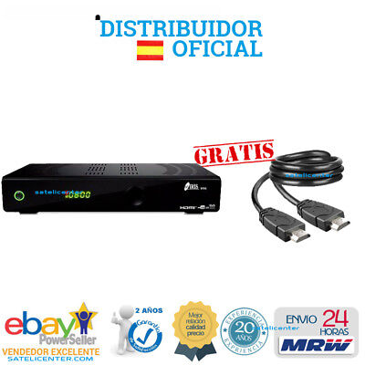 Decodificador Satelite  Iris 9800 Hd Con Wifi+Cable Hdmi Mrw 24H 2 Años Garantia