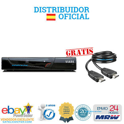 Decodificador  Viark Sat/ Nuevo  Qviart Unic  Wifi  + Regalo Cable Hdmi 24 H