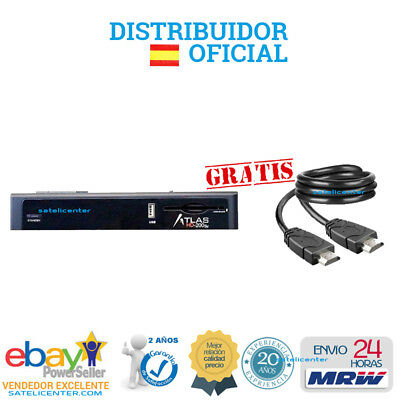 Decodificador Satelite Cristor Atlas Hd 200 Se +Wifi+ Cable Hdmi+Mrw 24H