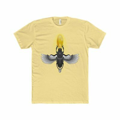HorusWare Ancient Egyptian Scarab Beetle Men's Cotton Crew Tee