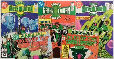 Tales of the Green Lantern Corps #1,2 & 3 complete + Annuals #2 & #3 (DC 1981)