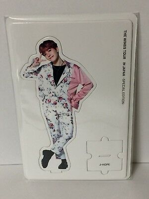 BTS J-HOPE OFFICIAL MERCHANDISE Paper Stand 2017 LIVE THE WINGS TOUR IN JAPAN
