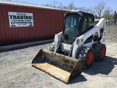 2013 Bobcat S650 Skid Steer Loader w/Cab, 2spd, and High Flow! Coming In Soon!