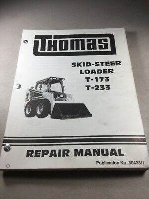 thomas t135 s skid steer loader repair service manual new 44290 rh picclick com Thomas Skid Steer Block Heater Thomas Skid Steer Models