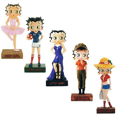 Lot of 30 figurines Betty Boop from Betty Boop Show Collection