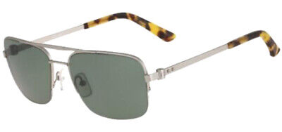16baa4a65543 Calvin Klein Collection Men's Semi-Rimless Navigator Sunglasses - CK8001S  045