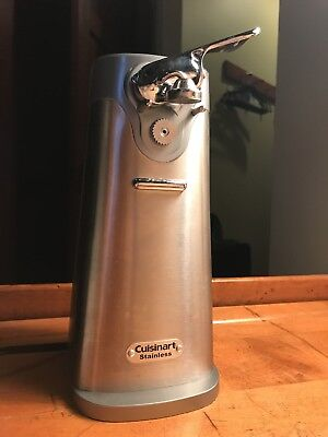 Cuisinart Stainless Steel Electric Can Opener Model Sco 60 2500