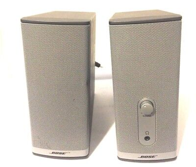 BOSE Companion 2 Series II Computer Multimedia Speakers Good Working