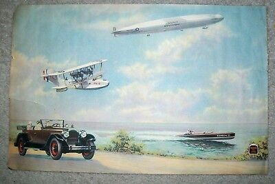 ANTIQUE 1920s PACKARD SIX & EIGHT ~ ASK THE MAN WHO OWNS ONE ADVERTISEMENT
