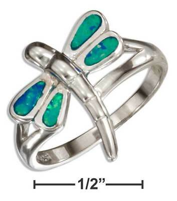 Wholesale 925 Sterling Silver Plated Women Fashion dragonfly Rings Gift HJ 052