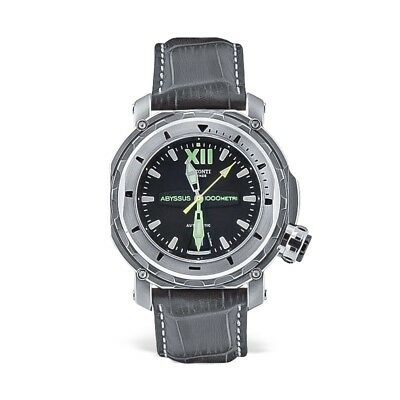 Visconti Italy Full Dive 1000 Stainless Steel 45mm Black Dial Automatic Watch