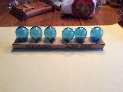 Flash Bulbs 6 Sylvania Blue Dot Bulbs