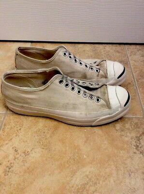 Vtg Jack Purcell Posture Foundation  Men 7 1/2 USA Sanitized