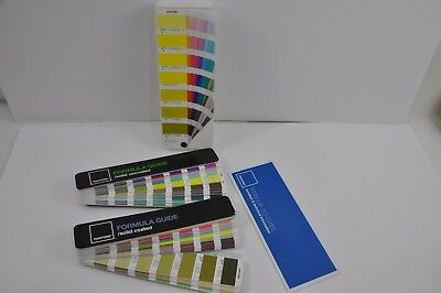 (B5) Pantone Formula Guide Solid Uncoated  and solid coated 4th Edition
