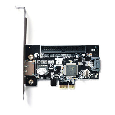 PCI Express ESATA + SATAII + PATA (IDE) Interface Expansion Adapter Card AC697