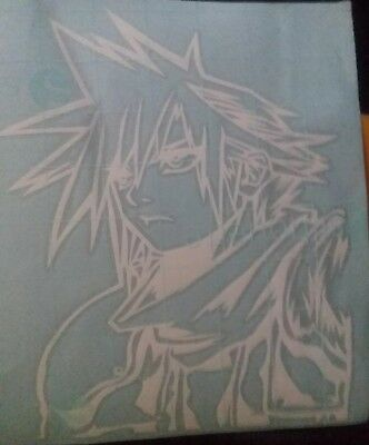 Final Fantasy 7 Cloud Strife decal (large)