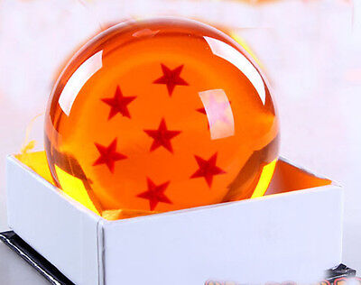 "Dragon Ball DragonBall Z Crystal Ball 7 Star Diameter 3""/7.5cm Ball New in Box"
