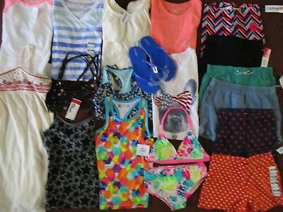 NWT'S Girls Size 8 SPRING & SUMMER Name Brand Lot Clothes & Outfits