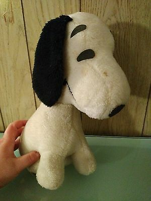 Snoopy Plush -1958- VINTAGE! (Sitting Plush) -Charlie Brown/Peanuts-