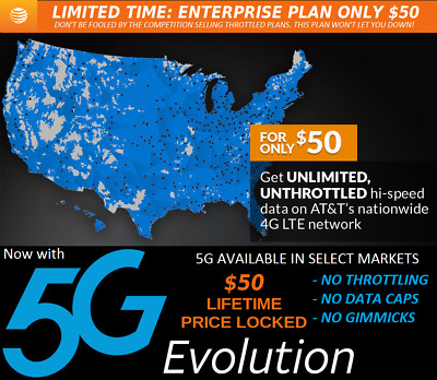 UNLIMITED HOTSPOT DATA for $29 99 month  For RV's, Truckers