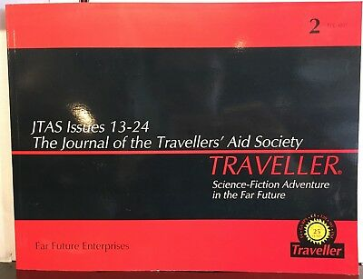Traveller JTAS Issues 13-24 Journal of the Travellers' Aid Society Paperback
