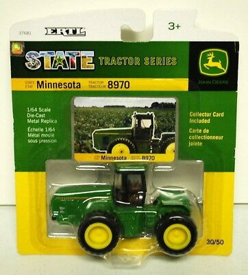 John Deere 8970 Tractor State Tractor Series With Dual Wheels Diecast Scale 1/64