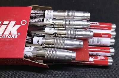 Box of 10 x Tempilstik Temperature Indicators 100C / 212F 28310 Welding TSC0100