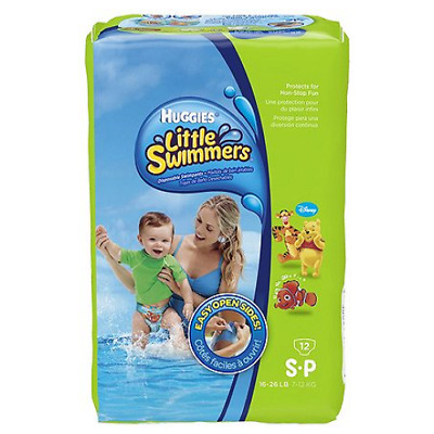 Huggies Little Swimmers Small 12 Pack