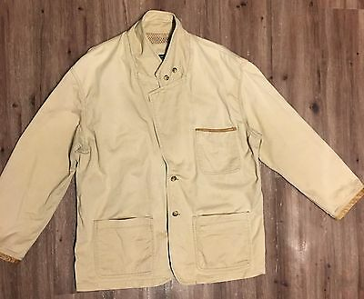 Orvis Zambezi Jacket XL Tan Field Outdoor Bird Hunting