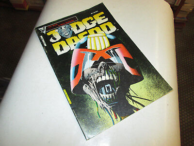 Judge Dreed 7 .. Comics . Aredit 1985..