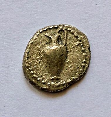 Silver Tetrobol coin. MACEDON. Terone. Circa 490-480 BC, early and rare.