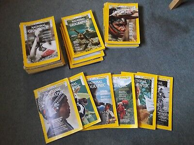 1970s National Geographic Magazines, choose your own issues