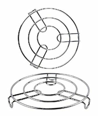 Metal Pan Rest 20cm Diameter Wire Round Trivet Hot Pan Placement Strong LongLife