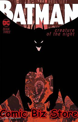 Batman Creature Of The Night #3 (Of 4) (2018) 1St Printing Dc Universe Rebirth