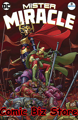 Mister Miracle #8 (Of 12) (2018) 1St Printing Dc Universe Rebirth