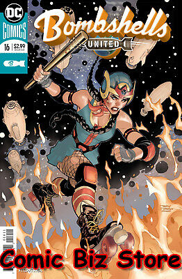 Bombshells United #16 (2018) 1St Printing Bagged & Boarded Dc Comics