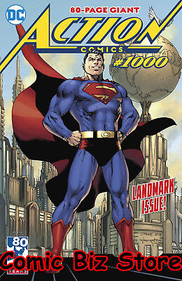 Action Comics #1000 (2018) 1St Print Main Cvr Superman At 80 Dc Universe ($7.99)