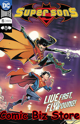 Super Sons #15 (2018) 1St Printing Bagged & Boarded Dc Universe Rebirth