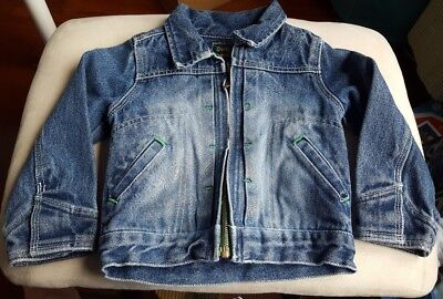 Infant Baby Oshkosh b'gosh Blue Jean Jacket 3T