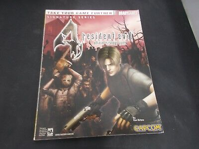 PS2 Playstation 2 Gamecube Brady Game Official Strategy Guide RESIDENT EVIL 4