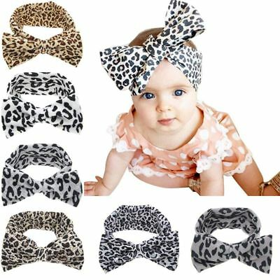 6PCS/Lot Leopard Print Headband Bulk for Baby Girl Kids Toddlers Hair Accessory